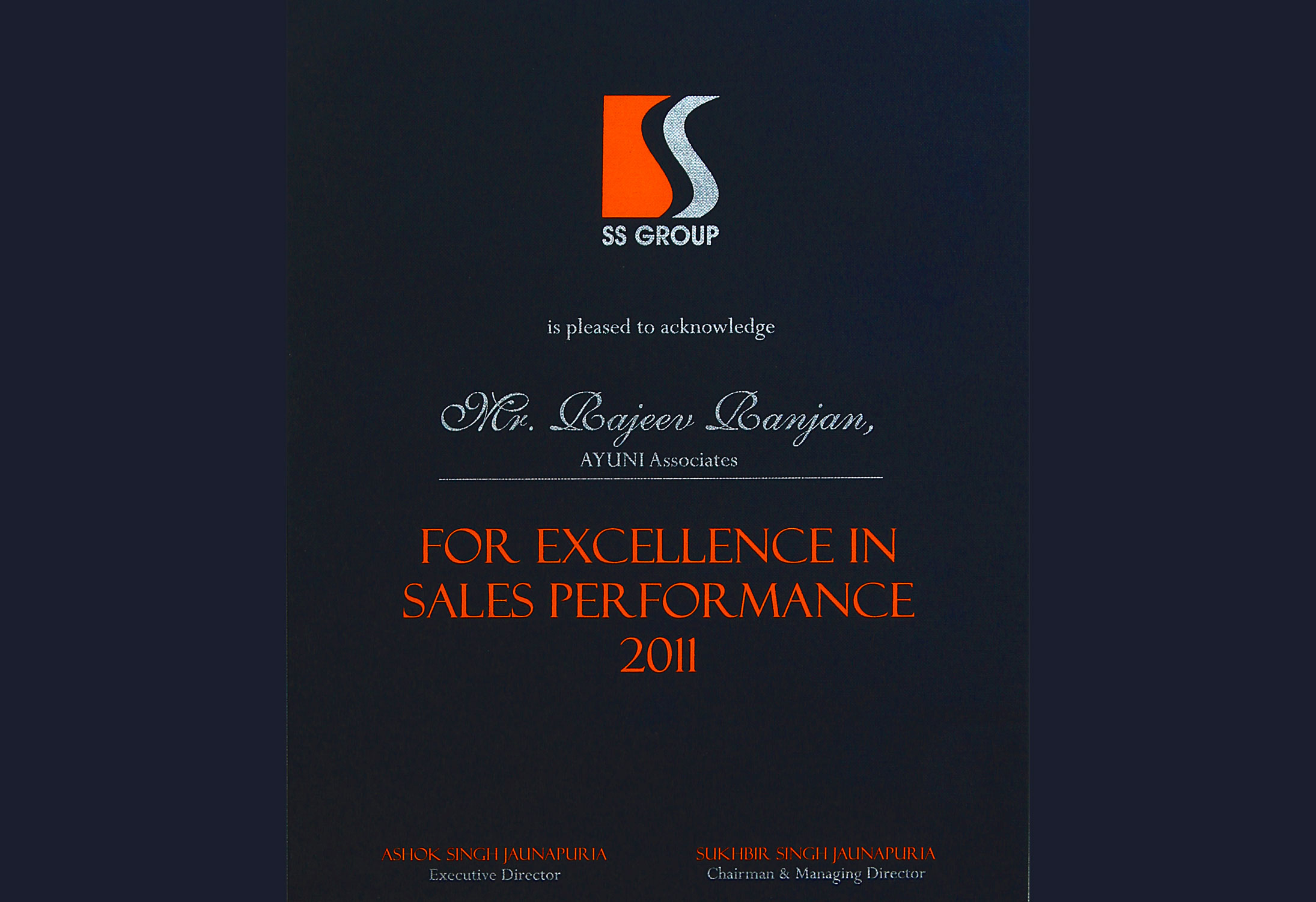 SS Group - Excellence  Performance