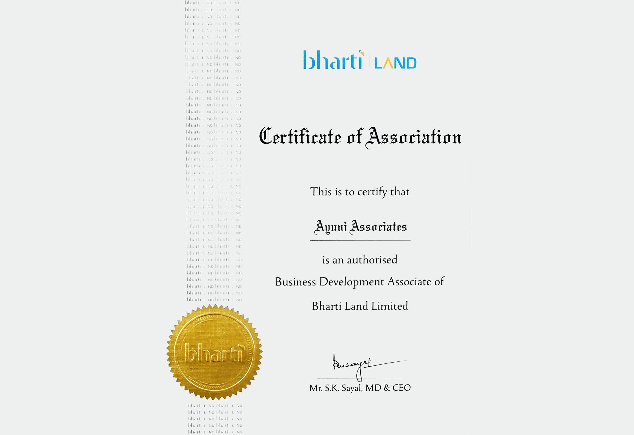 Bharti Land