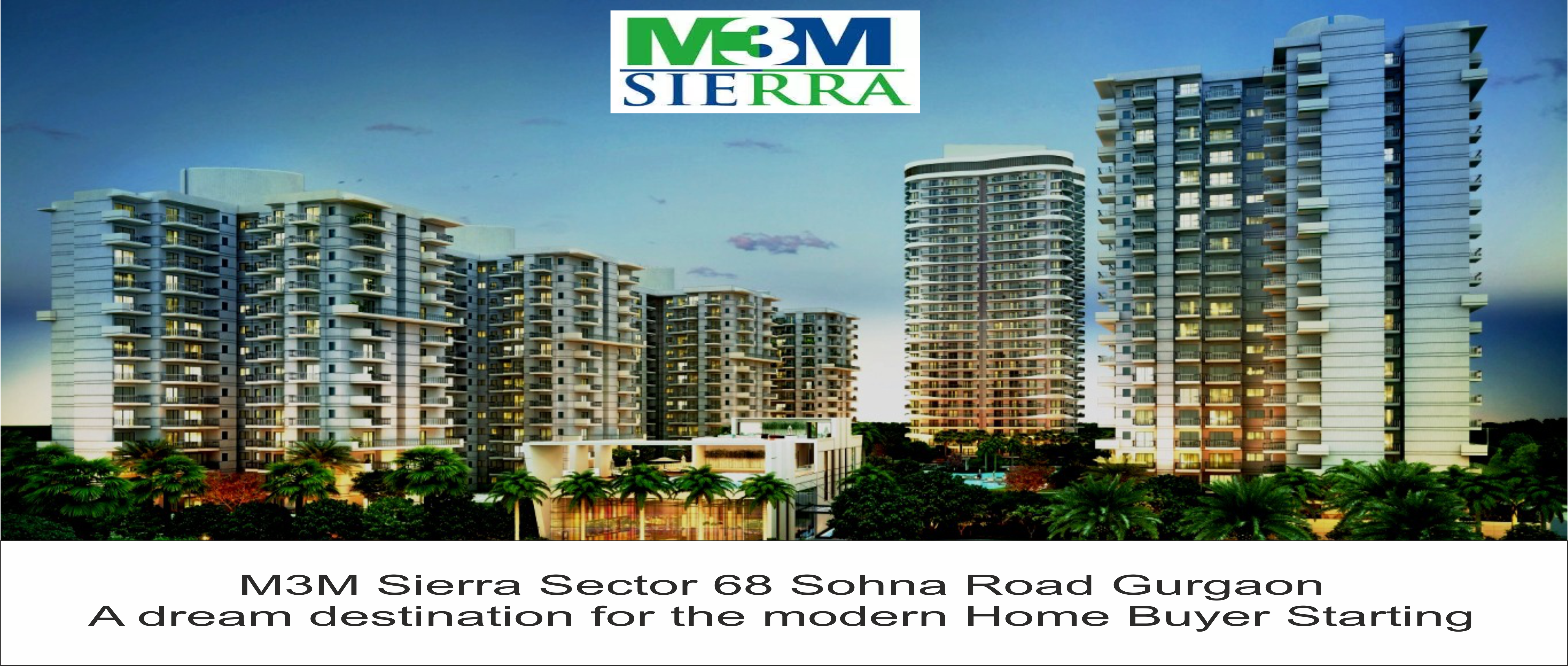 M3M Sierra Sector 68 Sohna Road Gurgaon